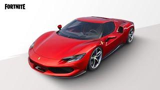 El Ferrari 296 GTB llega a la isla de Fortnite como nuevo vehículo