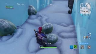 Fortnite| I Destroyed A Dragon Egg At Polar Peak| Not Clickbait| Glitch