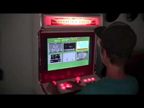 19-in-1 arcade wall mount (WallCade) - YouTube
