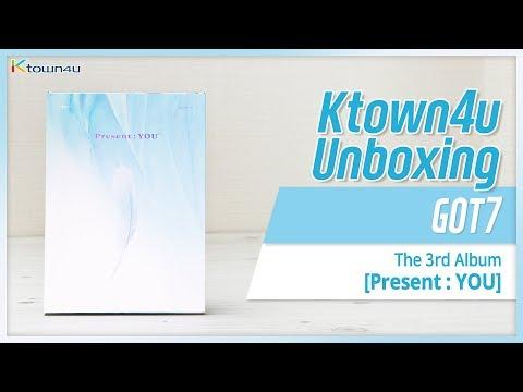 [Ktown4u Unboxing] GOT7 - 3rd Album [Present: YOU] 갓세븐 프레즌트: 유 언박싱
