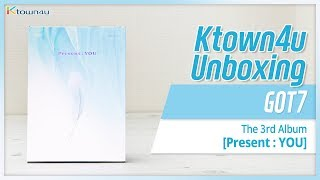 [Ktown4u Unboxing] GOT7 - 3rd Album [Present: YOU] 갓세븐 프레즌트: 유 언박싱