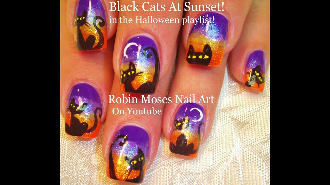 spooky diy halloween black cat