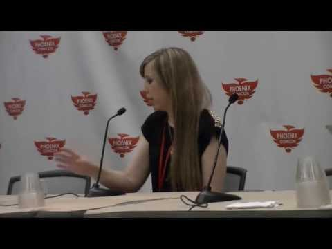 Phoenix Comicon 2013 Alexis Tipton Panel (SATURDAY) - Part 1