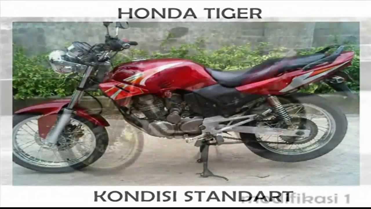 Motor honda tiger terbaru 2014