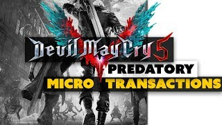 Do Devil May Cry 5's Microtransactions Cross The Line?