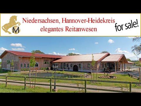 Niedersachsen, Elegantes Reitanwesen, Reitimmobilie Zu Verkaufen