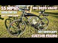 CDHPower Racing Bike Build [55MPH] - 80CC Zeda Dio - OKO Carb - 36T Sprocket - Super Banana Pipe!