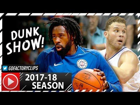 Blake Griffin & DeAndre Jordan Full PS Highlights vs Raptors (2017.10.04) - LA SHOWTIME!