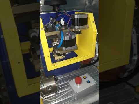 Маркировочный станок, тест после модернизации