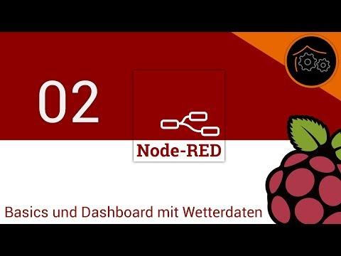 NodeRed-Tutorial Part 2: Basics Und Dashboard Mit Wetterdaten | Haus-automatisierung.com