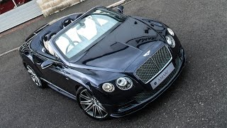 Bentley Continental GTC Speed Convertible 2016