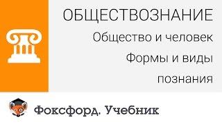 Обществознание. Общество и человек: Формы и виды познания. Центр онлайн-обучения «Фоксфорд»(Лучшие учителя страны преподают в центре онлайн-обучения «Фоксфорд». Запишитесь на первое занятие по общес..., 2015-02-09T16:29:54.000Z)