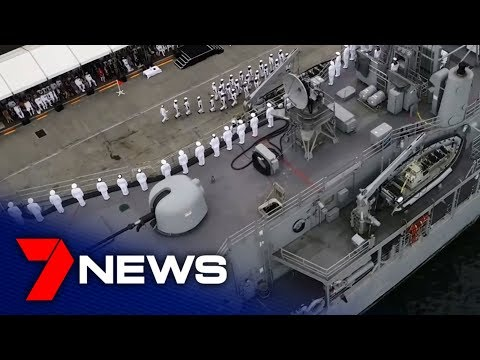 HMAS Melbourne Has Been Farewelled At A Decommissioning Ceremony In Sydney  | 7NEWS