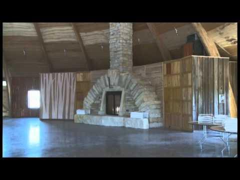 The Big Round Barn in Iowa