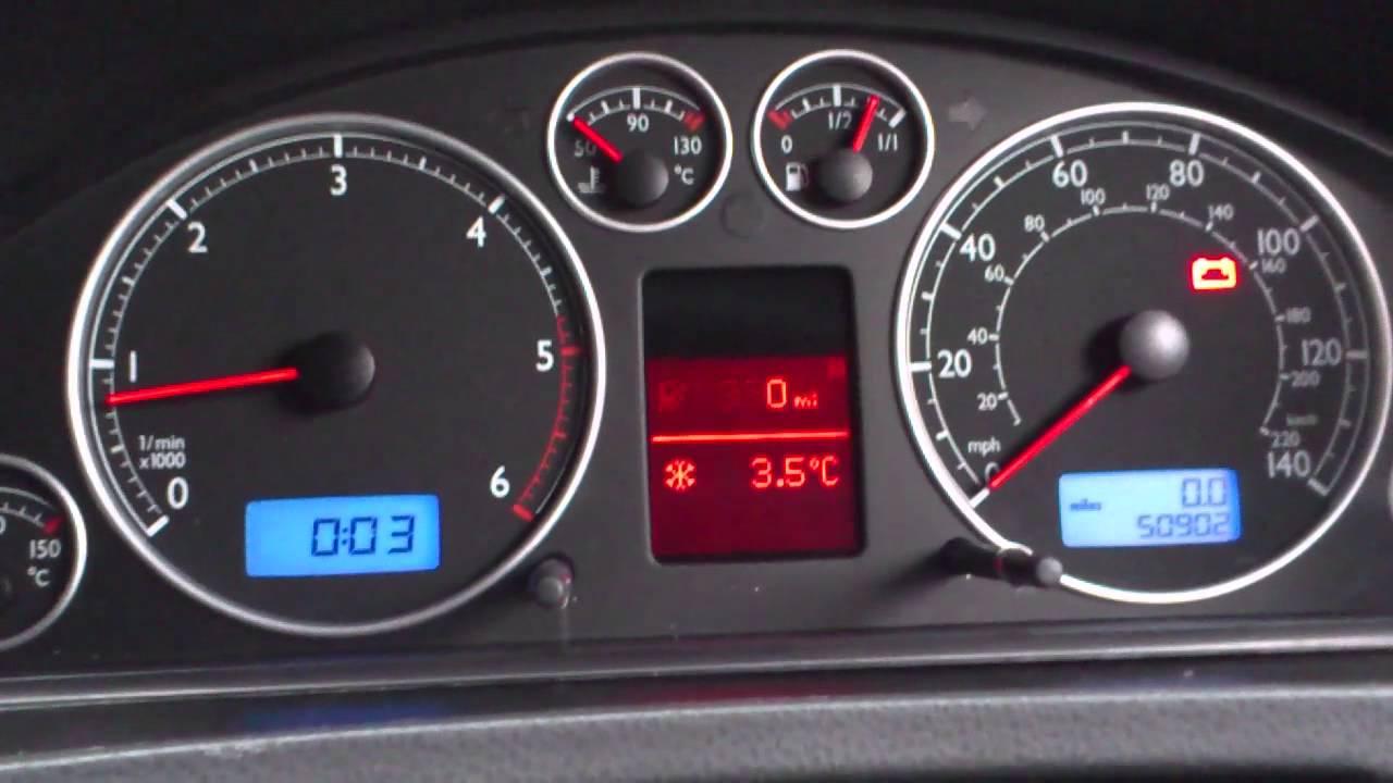 T49 net Blog » Volkswagen T5 Highline dashpod with MFA retrofit