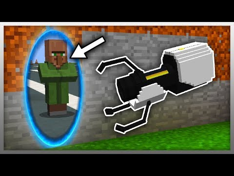 ✔️ Working PORTAL GUN In Minecraft!