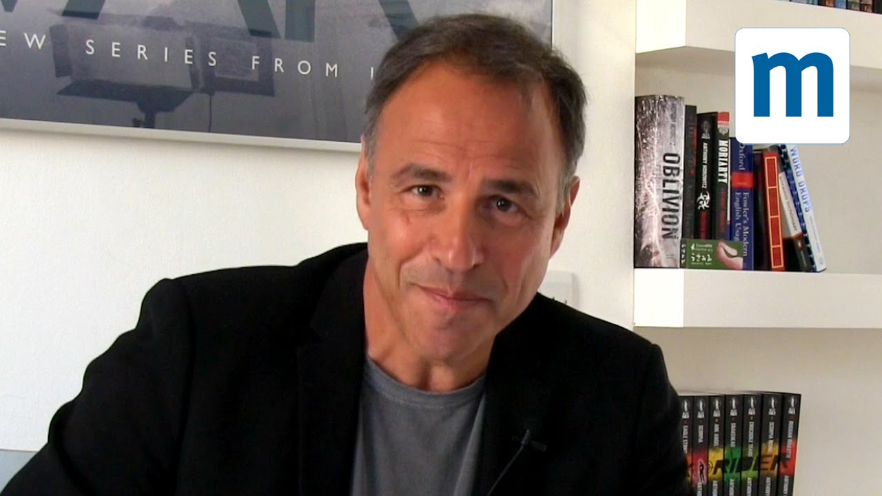 Anthony Horowitz' top five tips for aspiring writers - YouTube