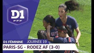 J19 : Paris Saint Germain - Rodez AF (3-0) / D1 Féminine