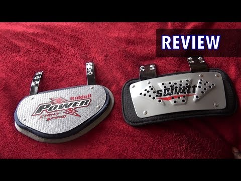 Back Plate Review & Comparison (Riddell/Schutt) - Ep. 90