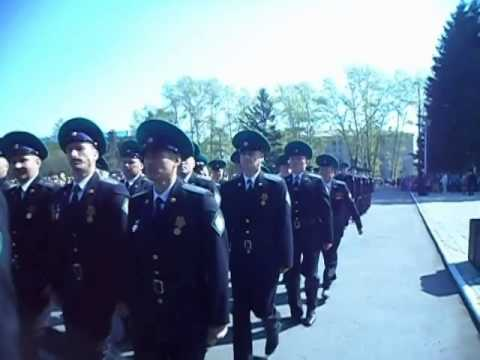 Парад Победы в Райчихинске 2014