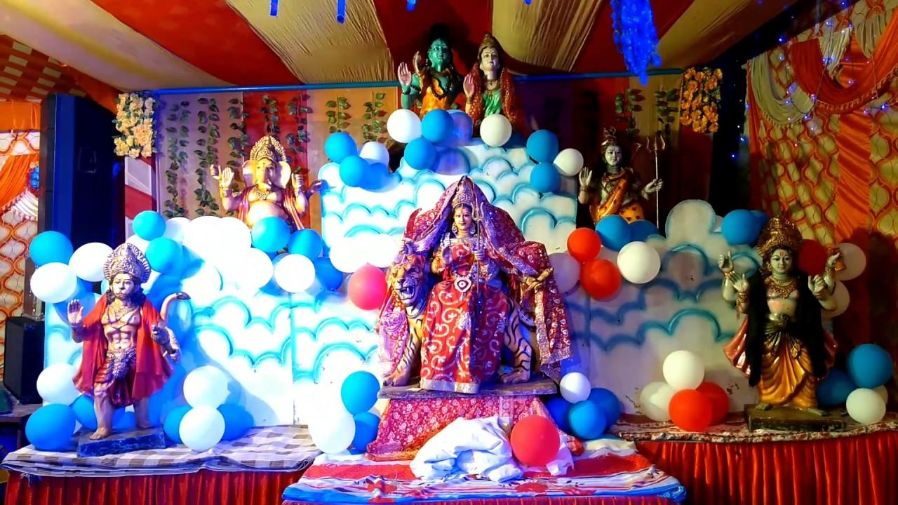 Light Decoration By Yash At Vishal Bhagwati Jagran Near Rama Mandir Ropar Punjab