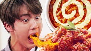 BTS Try To Eat Spicy Foods Challenge!