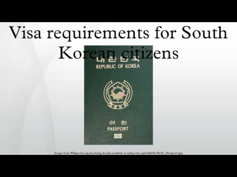Visa requirements for South Korean citizens