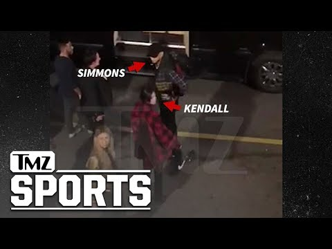 Johnny V - Sixers Ben Simmons and Kendall Jenner spotted in Philly.