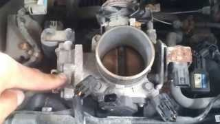 throttle body cleaning 2002 civic