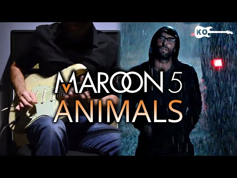 Maroon 5 - Animals - Electric Guitar Cover by Kfir Ochaion