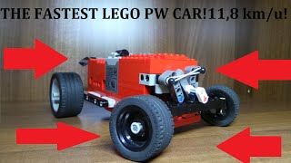 THE FASTEST LEGO CAR | With Lego Power Functions!
