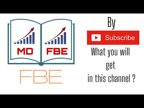 Financial Book English Channel Introduction