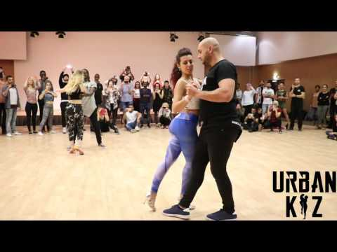 Urban Kiz Battle Enah Vs Moun with Marta & Eden at SUAVE 2017