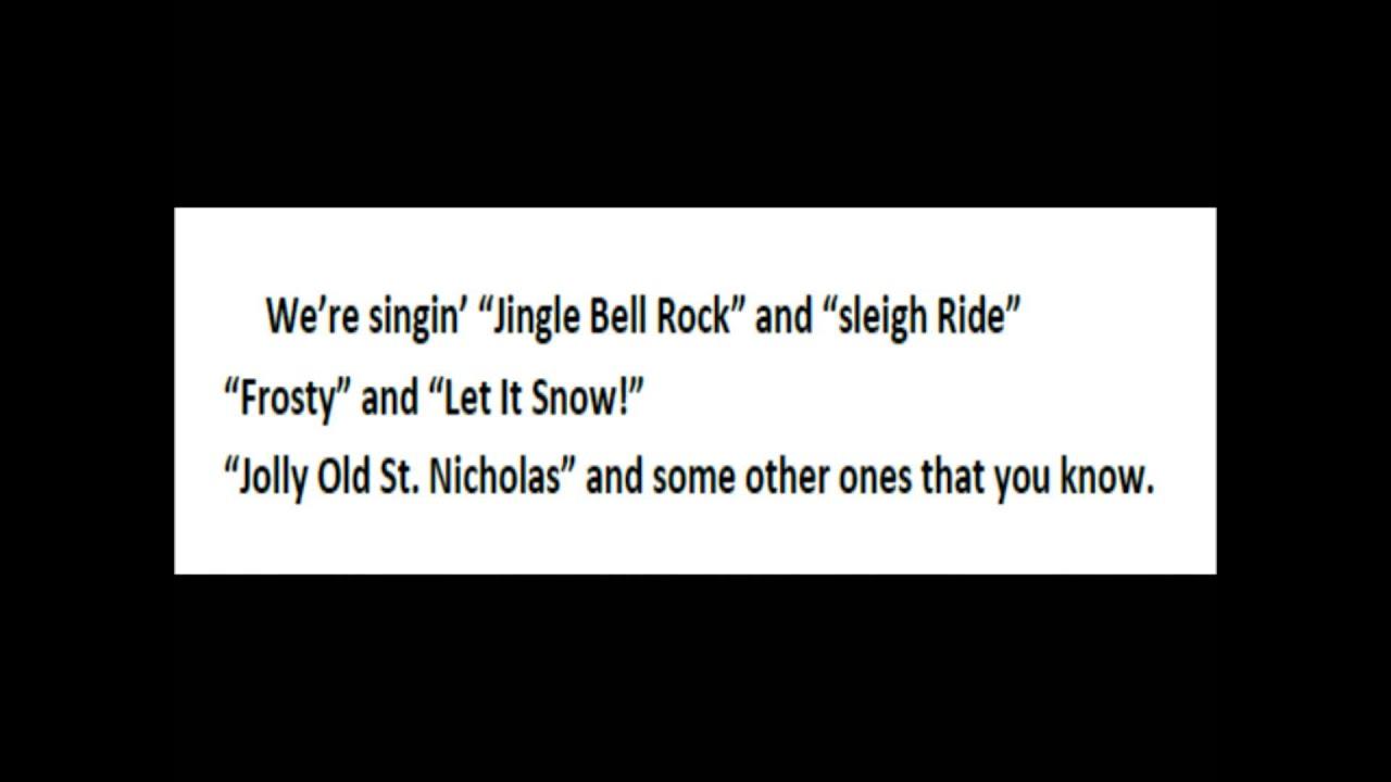 jingle bell jukebox lyrics