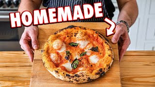Making Authentic Pizza At Home (2 Ways)