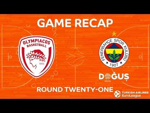 Highlights: Olympiacos Piraeus - Fenerbahce Dogus Istanbul