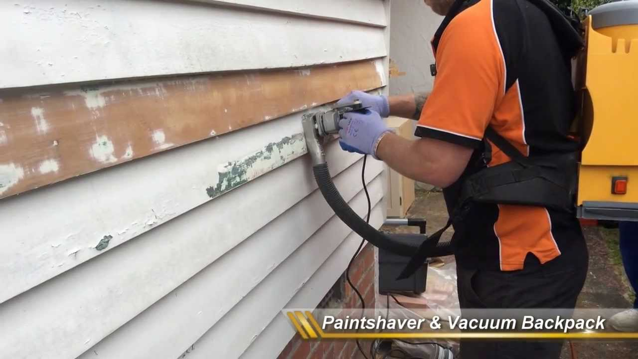 How To Scrape Paint Off Wood House