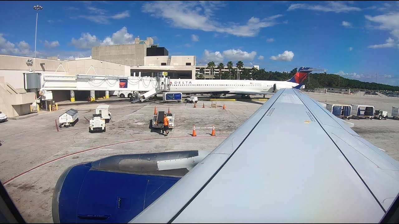 Trip Report Delta Air Lines Economy Airbus A319 Boston West Palm Beach