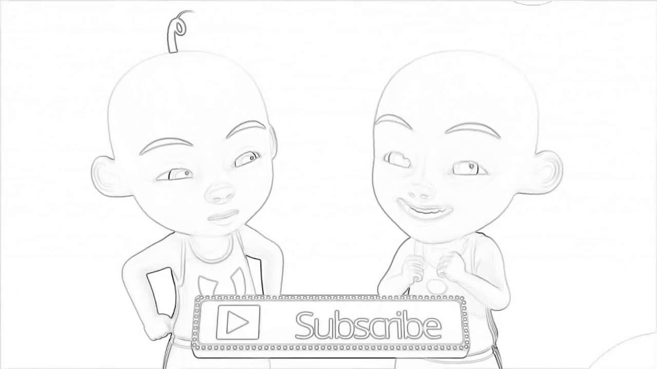 Upin Ipin Sketsa Youtube