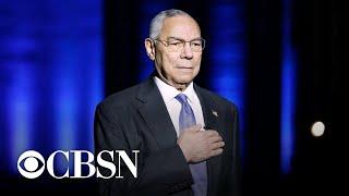 Antony Blinken honors Colin Powell's life and career in remarks   full video