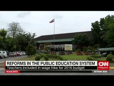 Reforms in the Public Education System