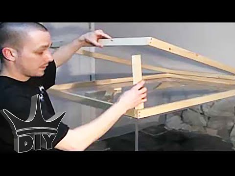 How To Build An Aquarium Stand Canopy 2 3 Youtube