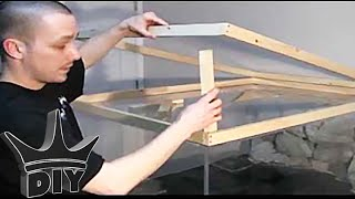 How To: Build An Aquarium Stand/canopy 2/3
