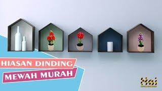 Ide Dekorasi Membuat Rak Dinding Hias Dari Kardus   DIY Decorative Wall Shelves From Cardboard