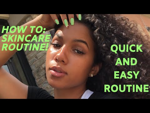 HOW TO: Clear Skin/MY SKIN CARE ROUTINE 2019  Trader Joes Products  Image SkinCare  Faith Knight