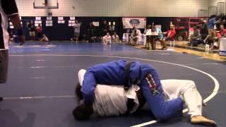 BJJ Black Belt vs TKD Black Belt Cross Choke From Mount