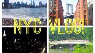 NYC VLOG SUMMER 2014! Thumbnail