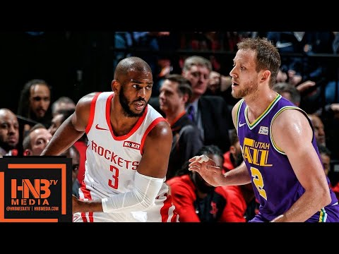 Houston Rockets vs Utah Jazz Full Game Highlights | 12.06.2018, NBA Season