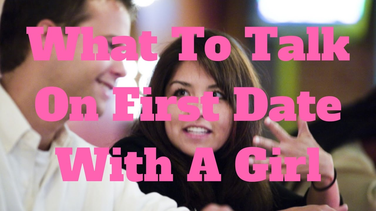 What to talk in a date