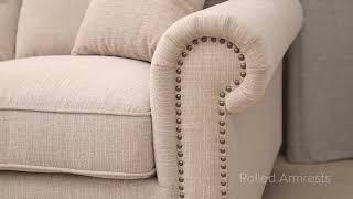 Deana Fabric Sectional